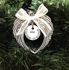 birthstone ornaments sted christmas ornament angel wings with swarovski