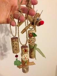 wine cork snowman ornament by notjustknots on etsy