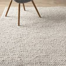 Area Wool Rugs Arviso Woven Wool White Area Rug Reviews Allmodern