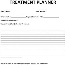 treatment plan templates psychotherapy progress notes template