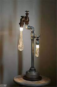 Unique Light Bulbs 20 Interesting Industrial Pipe L Design Ideas