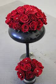 Red Roses Centerpieces Mae Bee U0027s Flowers Red Rose Centerpieces