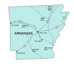 us map of arkansas arkansas us state powerpoint map highways waterways capital and