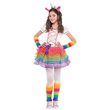 Unicorn Costume Amazon Com Rainbow Unicorn Child Costume Toddler Clothing