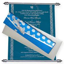 Scroll Invitation Cards The Wedding Cards Online Wedding Directory Melbourne
