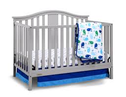 Graco Crib Convertible by Graco Solano 4 In 1 Convertible Crib And Bonus Mattress Pebble Gray