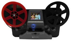 wolverine 8mm and super8 reels movie digitizer with lcd black film