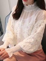 sleeve chiffon blouse casual solid ruffled sleeve chiffon blouse popjulia com