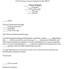 cover letter for non profit position cover letter design research