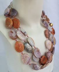 agate jewelry necklace images Handmade agate necklace luxury jewelry by christine smith jpg