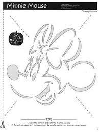 printable minnie mouse pumpkin stencils printabletreats