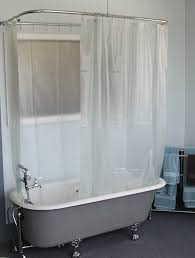 Clawfoot Tub Shower Curtain Ideas Shower Curtains For Clawfoot Tubs Shower Curtains Ideas