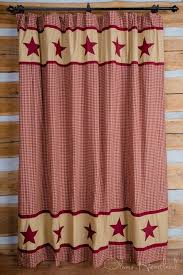 Star Shower Curtains Bath Shower Curtains Country Lodge U0026 Primitive Page 1 H2o