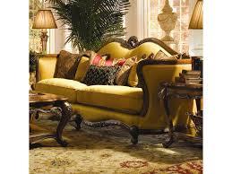 wood trim sofa michael amini palais royale wood trim sofa with hand carved