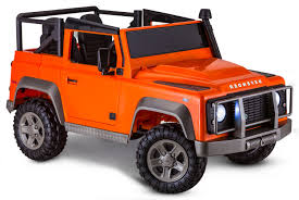 land rover usa defender avigo land rover defender 12 volt ride on orange toys