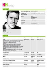 theatrical resume format actors resume search resumes