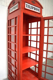 Red Phone Booth Cabinet Telephone Box Cabinet Welbrook Interiors Ltd Rococo Furniture Hull