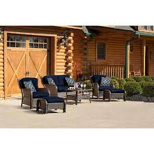 6 Piece Patio Set by Strathmere 6 Piece Deep Seating Patio Set With Cushions And Coffee