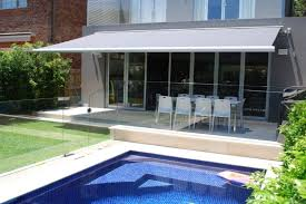 Custom Patio Blinds Folding Arm Awnings Retractable Blinds And Awnings Custom Made