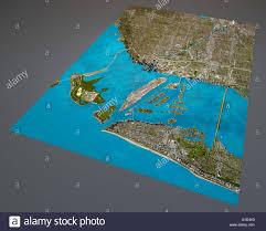 Miami Florida Map by Miami Map Satellite View Aerial View Florida United States Of