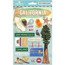 California travel stickers images All categories stickers page 1 scrapbook generation jpg