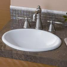 oval drop in sink bargain drop in oval bathroom sinks genersys djkambennettgraphics