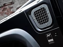 kahn land rover defender car crush land rover defender harris tweed edition by kahn design
