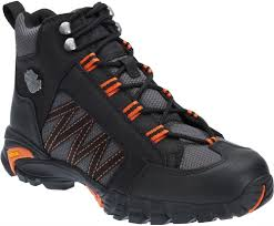black motorcycle shoes harley davidson men u0027s collins motorcycle riding shoes vibram