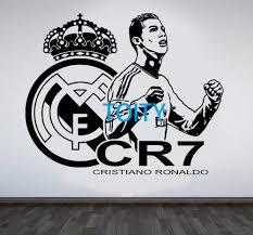 sport en chambre x cristiano ronaldo mur chambre décor fc footballeur affiche