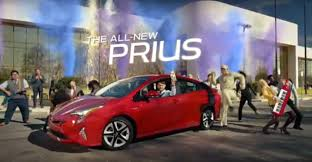 toyota 2016 2016 toyota prius hybrid is u0027heck on wheels u0027 in super bowl tv ad