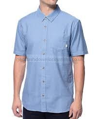 shirt on sale vans the seely indigo button up shirt 4us5963