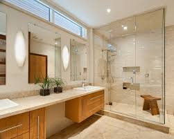 fowler home design inc colefax and fowler for a contemporary bathroom with a vanity mirrors