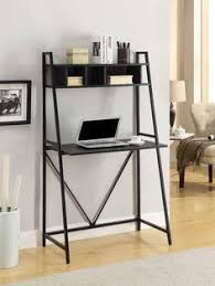 homcom 70 4 tier leaning ladder storage cabinet bookcase shelf