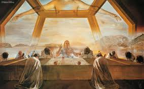 salvador dali last supper at the nga i was talking about this yesterday