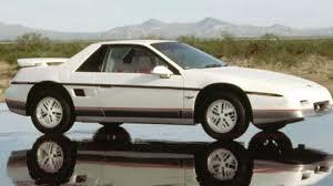pontiac fiero was caught between corvette minivans newsday