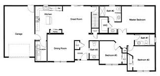 three bedroom floor plans 3 bedroom 2 bath open modular floor plan created and designed