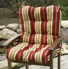 Patio Chair Cushions Home Depot by High Back Patio Chair Cushions Home Depot Home Design Ideas