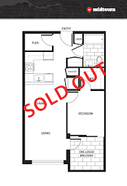 Bc Floor Plan Vancouver S Premiere Floor Planning Midtown 1 And 2 Bedroom Condos In Mount Pleasant Off Main