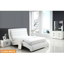 white leather bedroom sets white leather bedroom set contemporary leather bedroom suite 7 white