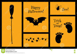halloween background silhouettes halloween set of silhouettes bat stock vector image 78080570