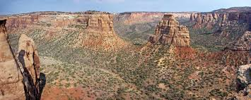 Colorado National Monument Map by Colorado National Monument Grand Junction Colorado