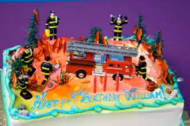 firetruck cakes truck cake creative party
