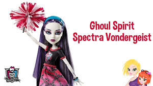 Monster High Halloween Doll by Monster High Ghoul Spirit Spectra Vondergeist Doll Review Youtube