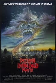 horrormovieposterblog return of the living dead 2 movie posters