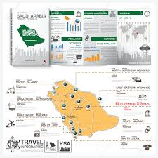 Utc Time Zone Map by Kingdom Of Saudi Arabia Travel Guide Book Business Infographic