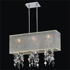 Glow Lighting Chandeliers Of Pearl Chandelier Rectangular Shade Chandelier Omni