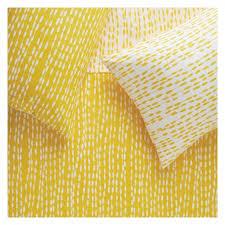 Double Duvet Cover Sets Uk Trene Yellow Yellow Patterned Double Duvet Cover Set Buy Now At