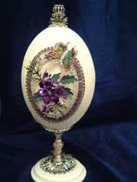 decorated goose eggs rhea