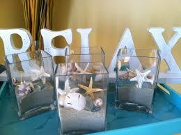 custom beach wedding real shells sand starfish seaglass squared