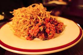 hubert cuisine prime beef tartare picture of restaurant hubert sydney